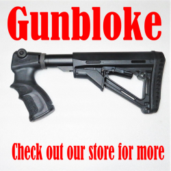 FAB DEFENSE Grip + GUNBLOKE ADJUSTABLE STOCK - REMINTGON 7600/7615